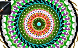 Rajzolj mandalát Sumo Paint képszerkesztőben