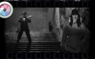 Filmkocka hatás Pixlr Expressben