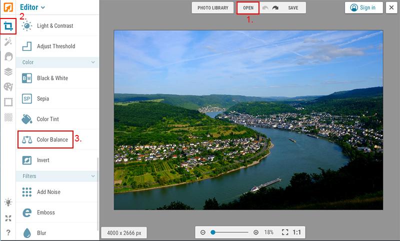 Megfakult színes papírkép hatás iPiccy képszerkesztőben 2