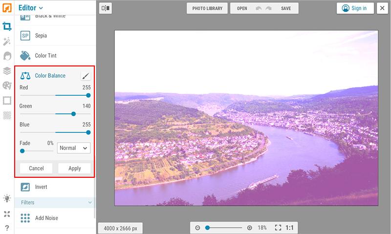 Megfakult színes papírkép hatás iPiccy képszerkesztőben 3