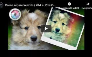 Polaroid hatás Pixlr-O-Matic képszerkesztőben