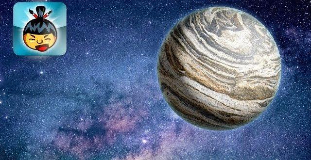 SumoPaint - Bolygó a világűrben (kompozit)